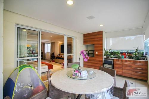 Imagem 1 de 15 de Apartamento Para Venda Em São Paulo, Campo Belo, 3 Dormitórios, 3 Suítes, 5 Banheiros, 5 Vagas - Cabl1096_2-1180452