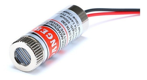 Módulo Laser Linha 650nm 5mw Foco Ajustável