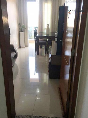 Imagem 1 de 19 de Apartamento Com 2 Dormitórios À Venda, 48 M² Por R$ 290.000,00 - Parque Novo Oratório - Santo André/sp - Ap0442