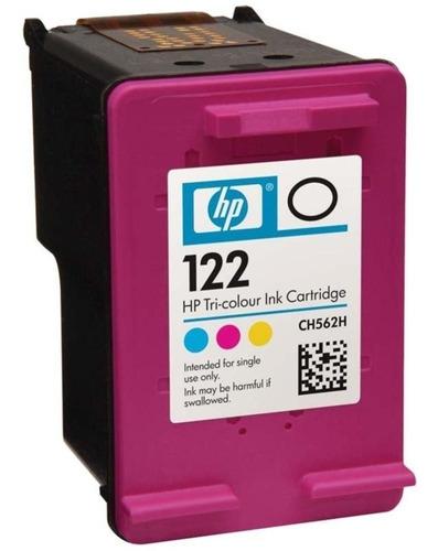 Imagen 1 de 5 de Cartucho Hp 122 Color Nuevo En Caja Original