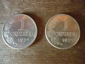 Moeda 1 Cruzeiro 1975 Verso Ver Foto - Cod.07/10/17-871