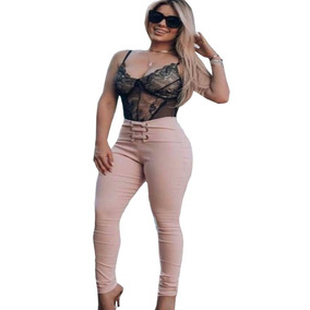 01cd34a15 Calca Social Sequinha Reta Rosa Calcas Feminino - Calçados