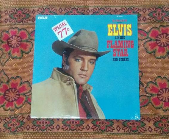 Elvis Presley Flaming Star 1968 Uauu Ainda Lacrado 1° Edição