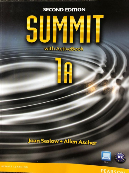 Livro De Inglês Summit 1a - Second Edition
