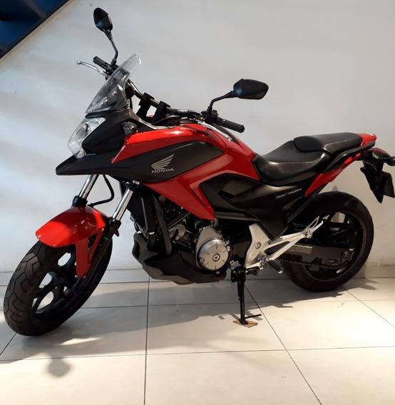 Honda Nc 700x Vermelha