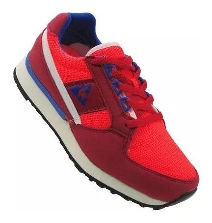 Zapatillas Le Coq Sportif Eclat 89 Mesh Junior Red Fluo
