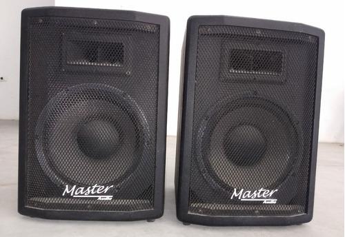 Caixa Ativa E Passiva Master Áudio