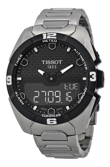 Relogio Tissot Touch T0914204405100 Expert Solar Titanium