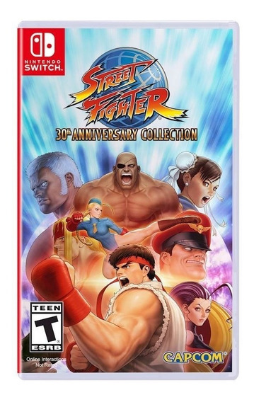 Juego Street Fighter 30th Anniversary Nsw Ibushak Gaming