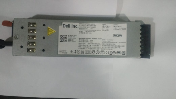 Fonte 502w Dell Switching Power Supply