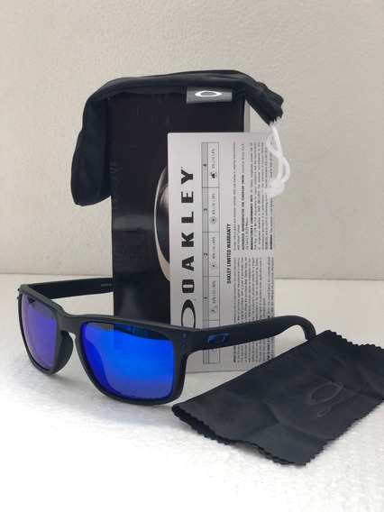 Oakley Holbrook Blue Iridium Polarized Nuevos Promocion