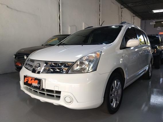 Nissan Livina 1.8 S Flex Aut 2014