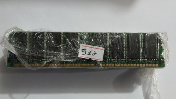 Lote 10 Memórias Desktop Pc Chip 512mb Ddr 400mhz #128