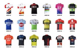 Camisa Ciclismo Mtb + De 70 Modelos -p-m-g-gg-3g Menor Preço