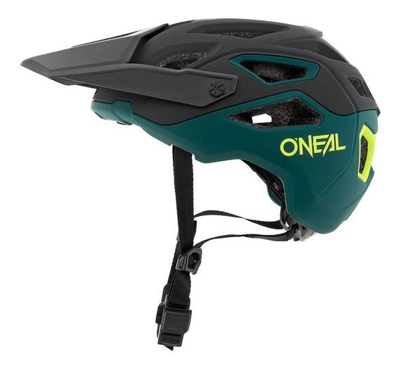 Casco Oneal Pike 2.0 Green/yellow Bicicleta Mtb Enduro Trail