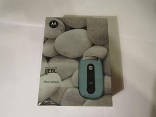 2006 Motorola Pebl U6 Nuevo En Caja Original Liberado Único
