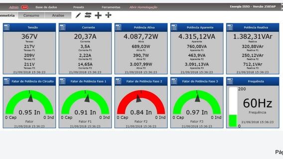 Banco De Capacitores Gerenciável P Controle De F.p 150kvar