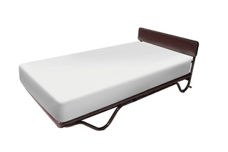 Cama Individual Con Colchon Movible