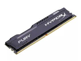 Memória Hyperx Fury Ddr4 8gb 2400mhz Preta