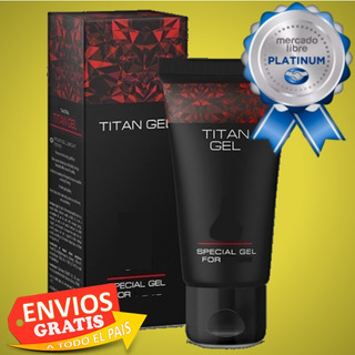 Titan Gel Original Holograma = Titan Mens Gel