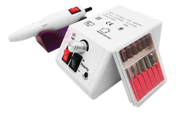 Lixadeira Lixa Motor Unha Elétrica Profissional Gel 110/220v