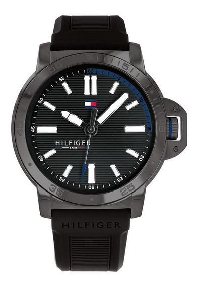 Reloj Tommy Hilfiger Caballero Color Negro 1791587 - S007