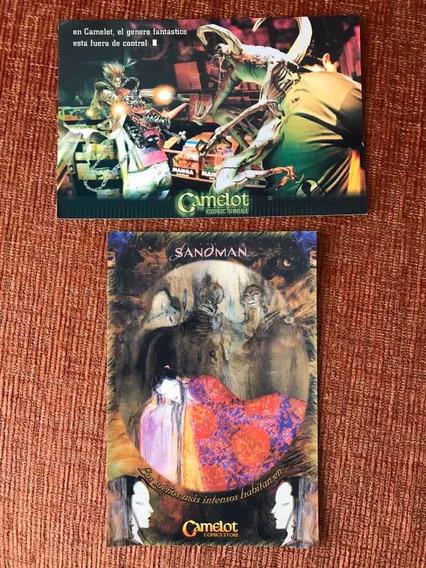 Postales Coleccionables Camelot Comics Store