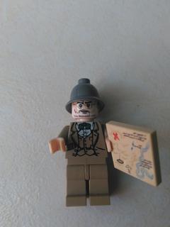 Lego Indiana Jones Henry Jones Sr. D Set 7198 Del Año 2009