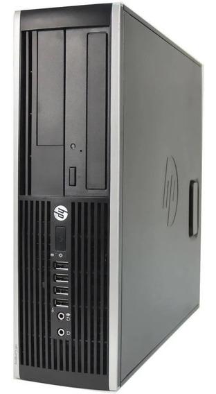 Desktop Computador Hp 6000 Small Core2 Quad 4gb Hd 250gb