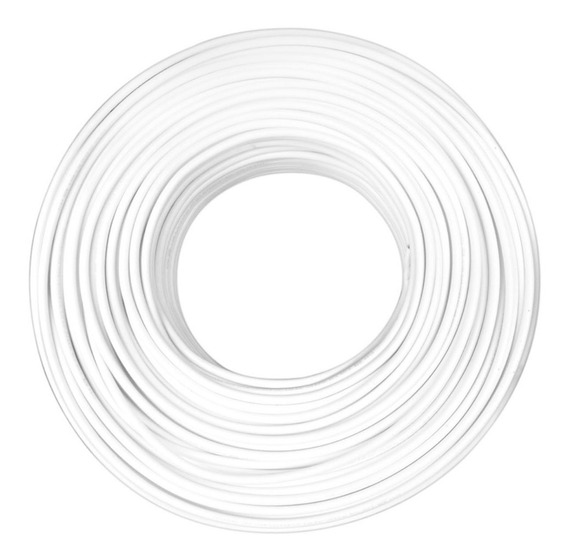 Cable Condulac Tipo Thw-ls/thhw-ls Blanco #10 Awg 100 Mts