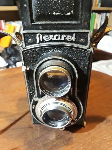 Camera Flexaret + Lente Belar 80mm 3.5