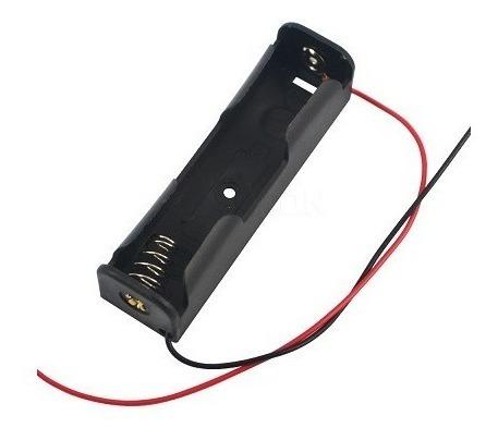 2pçs Case Suporte Para Bateria 18650 Para 1 Bateria- Cod.47