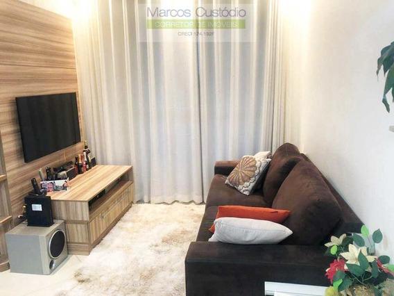 Apartamento Com 2 Dorms, Barcelona, São Caetano Do Sul - R$ 440 Mil, Cod: 1170 - V1170