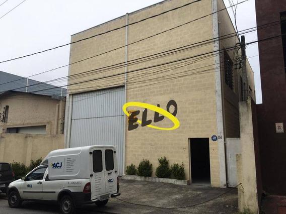 Galpão Para Alugar, 248 M² Por R$ 5.500/mês - Jardim Fontana - Cotia/sp - Ga0380
