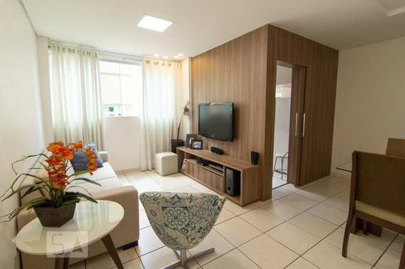 Apartamento No 2º Andar Com 2 Dormitórios E 2 Garagens - Id: 892970948 - 270948