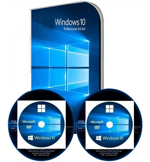 Kit Formatação Dvd Windows 10 Pro 32/64 + Dvd Office