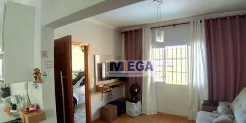 Imagem 1 de 13 de Casa Com 3 Dormitórios À Venda, 117 M² Por R$ 400.000,00 - Residencial Cittá Di Firenze - Campinas/sp - Ca2388
