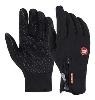 Guantes Windstooper Repelente Touch Termico Outdoor S M L Xl