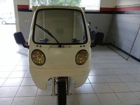Triciclo Carga Fechada Mcf 200 Motocar Usado