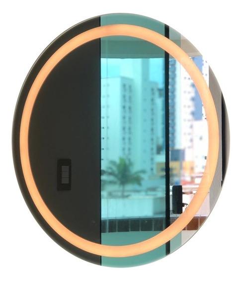 Espelho Iluminado Redondo 70cm - Led 4000k (branco Neutro)