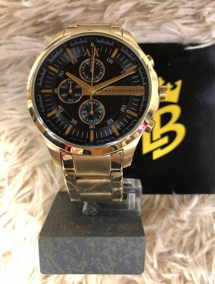Relógio Ax2137 Gold, Original, Garantia, Frete Gratis