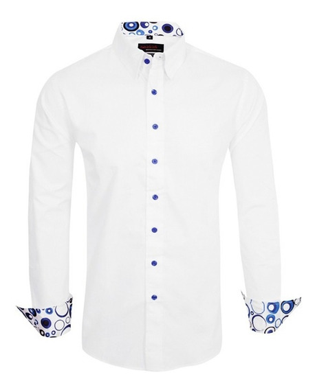 Camisa Entallada Importada Z339 - Quality Import Usa