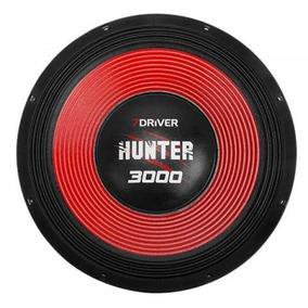 Alto Falante 7 Driver 15 Pol. Hunter 3000 De 4 Ohms