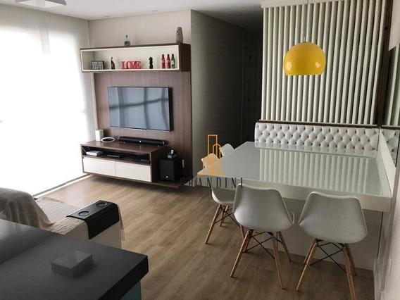 Apartamento Com 2 Dormitórios À Venda, 70 M² Por R$ 514.000,00 - Santa Paula - São Caetano Do Sul/sp - Ap1413
