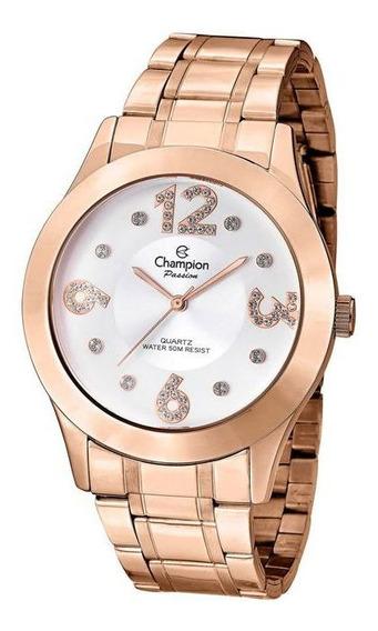 Relógio Feminino Champion Passion Rosé Original Cn29178z