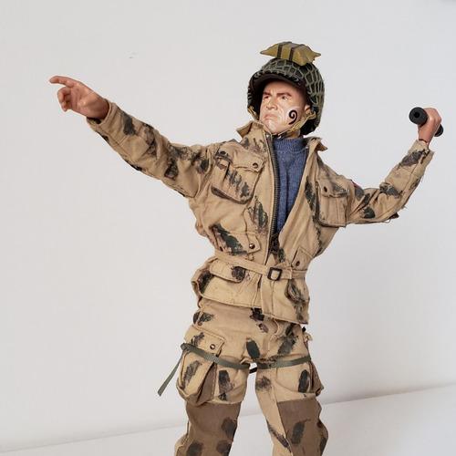 Soldado Americano Airborn Normandía 1:6 Segunda Guerra