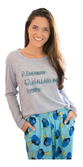 Pijama Mujer Varios Personajes Varios Modelos
