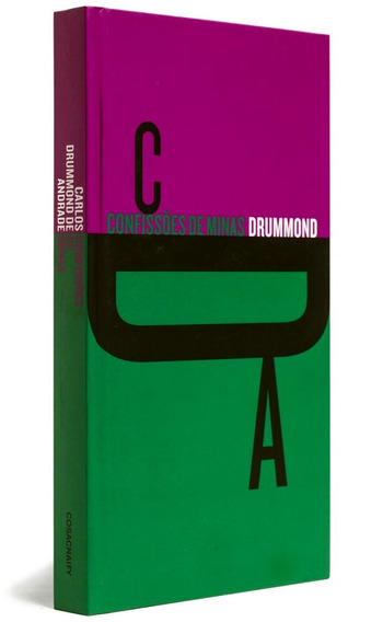 Livro Confissões De Minas Carlos Drummond De Andrade Prosa