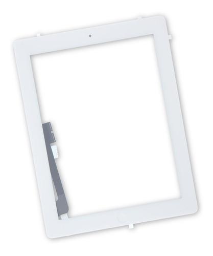 Imagem 1 de 4 de Tela Vidro Touch iPad 4 A1458 A1459 A1460 Adesivos E Botão