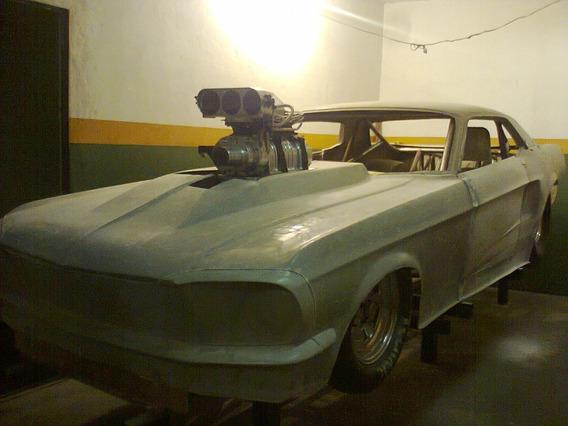 Ford Mustang Hardtop Corrida Chassi Mustang Promod Arrancada